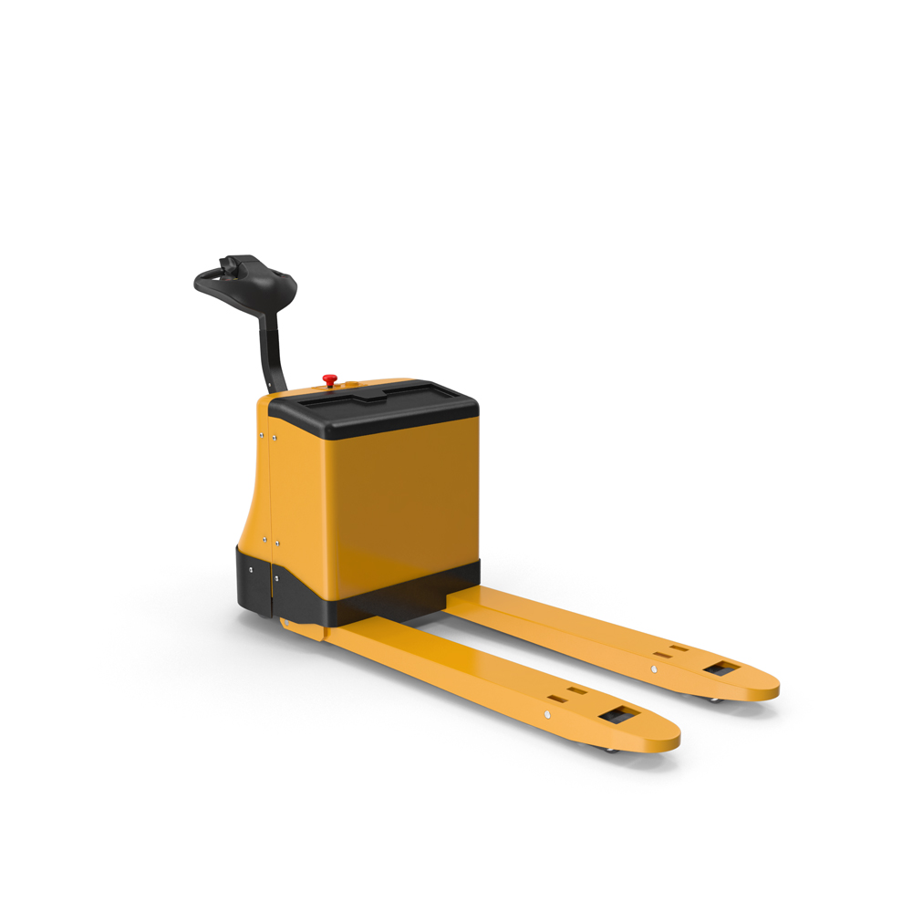 Powered_Pallet_Jack_Yellow