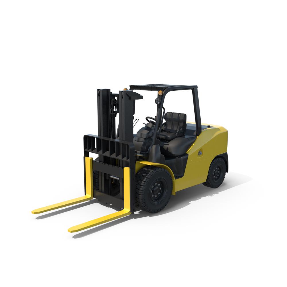_Wheel_Forklift_Loader_Truck.H03